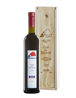 Clos des Zouaves 2018 in wooden box