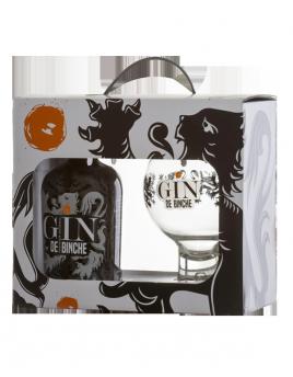 Pack Gin de Binche 35cl + 1 glas