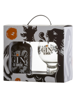 Pack Gin de Binche 35cl + 1 glass