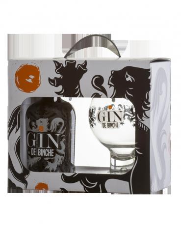 Pack Gin de Binche 35cl + 1 glass