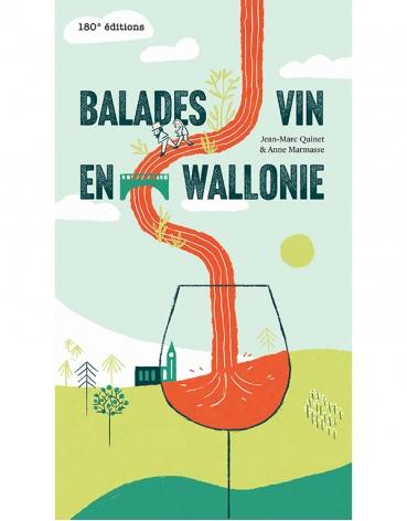 Livre Balade Vin En Wallonie