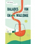 Livre Balades vin en Wallonie