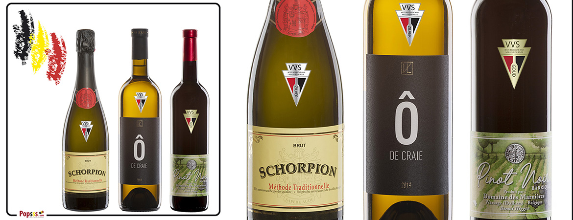 The top Belgian wines: our discovery pack