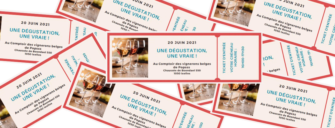 Tasting on the 20th of June